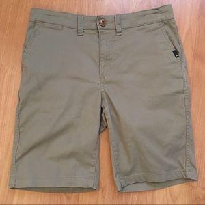 Quicksilver Men's Khaki Pocket Shorts Size 29